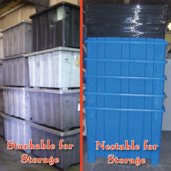 ... GP1004 Plastic Gaylord Container Bulk Storage Container Bulk Handling Container Bulk Container ... & Bulk Storage Containers Recycling Containers Material Handling