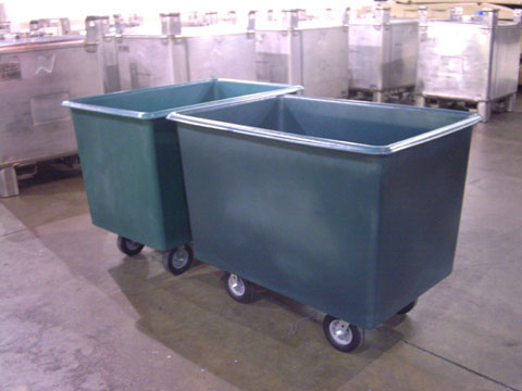 20 Bushel Carts, 20 Bushel Laundry Carts, Laundry Carts, 20 Bushel Poly Box Truck, 20 Bushel Laundry, 24 cubic feet laundry cart, 24 cubic feet poly cart